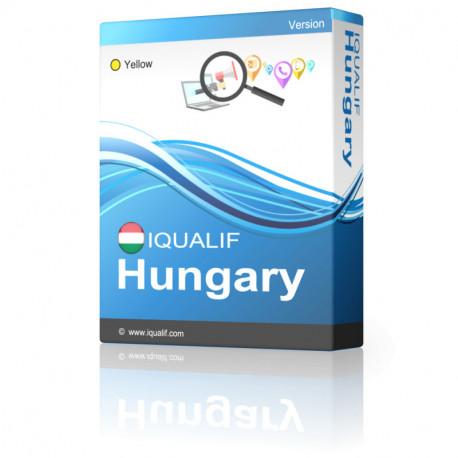 IQUALIF Ungarn Gelbe, Fachleute, Unternehmen
