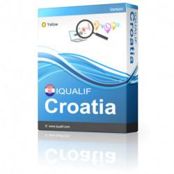 IQUALIF Croacia amarillo, profesionales, negocios
