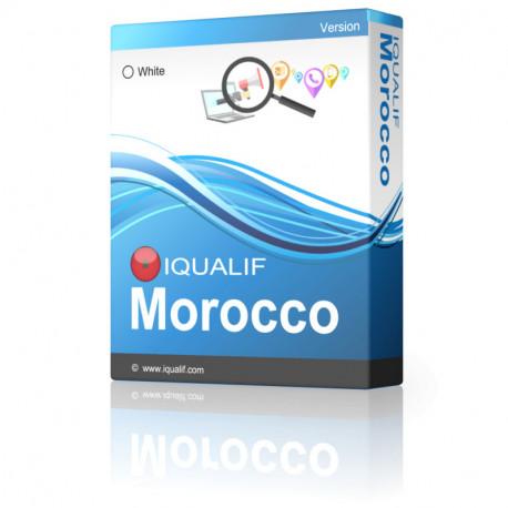 IQUALIF Marokko Weiße, Individuen