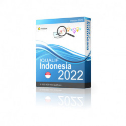 IQUALIF Indonesia amarillo, profesionales, negocios