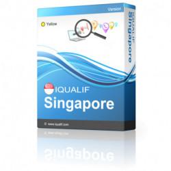 IQUALIF Singapur amarillo, profesionales, negocios