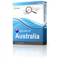 IQUALIF Australia amarillo, profesionales, negocios