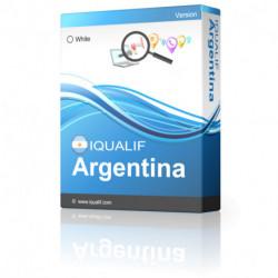IQUALIF Argentinien Weiße, Individuen