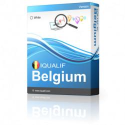 IQUALIF Belgium white, People
