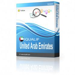 IQUALIF Emiratos Árabes Unidos amarillo, profesionales, negocios