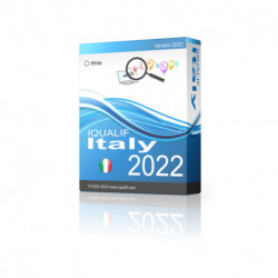 IQUALIF Italia blanco, particulares