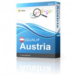 IQUALIF Austria amarillo, profesionales, negocios