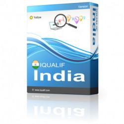 IQUALIF India amarillo, profesionales, negocios