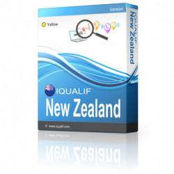IQUALIF Nueva Zelanda amarillo, profesionales, negocios
